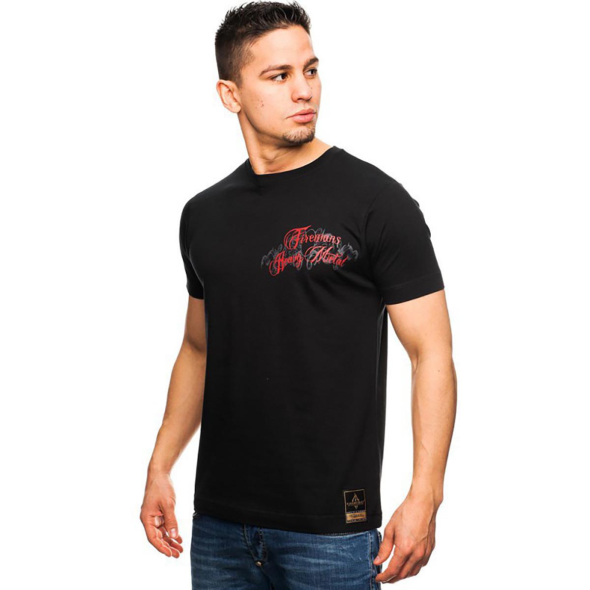 Fireman´s Heavy Metal - Männer T-Shirt schwarz