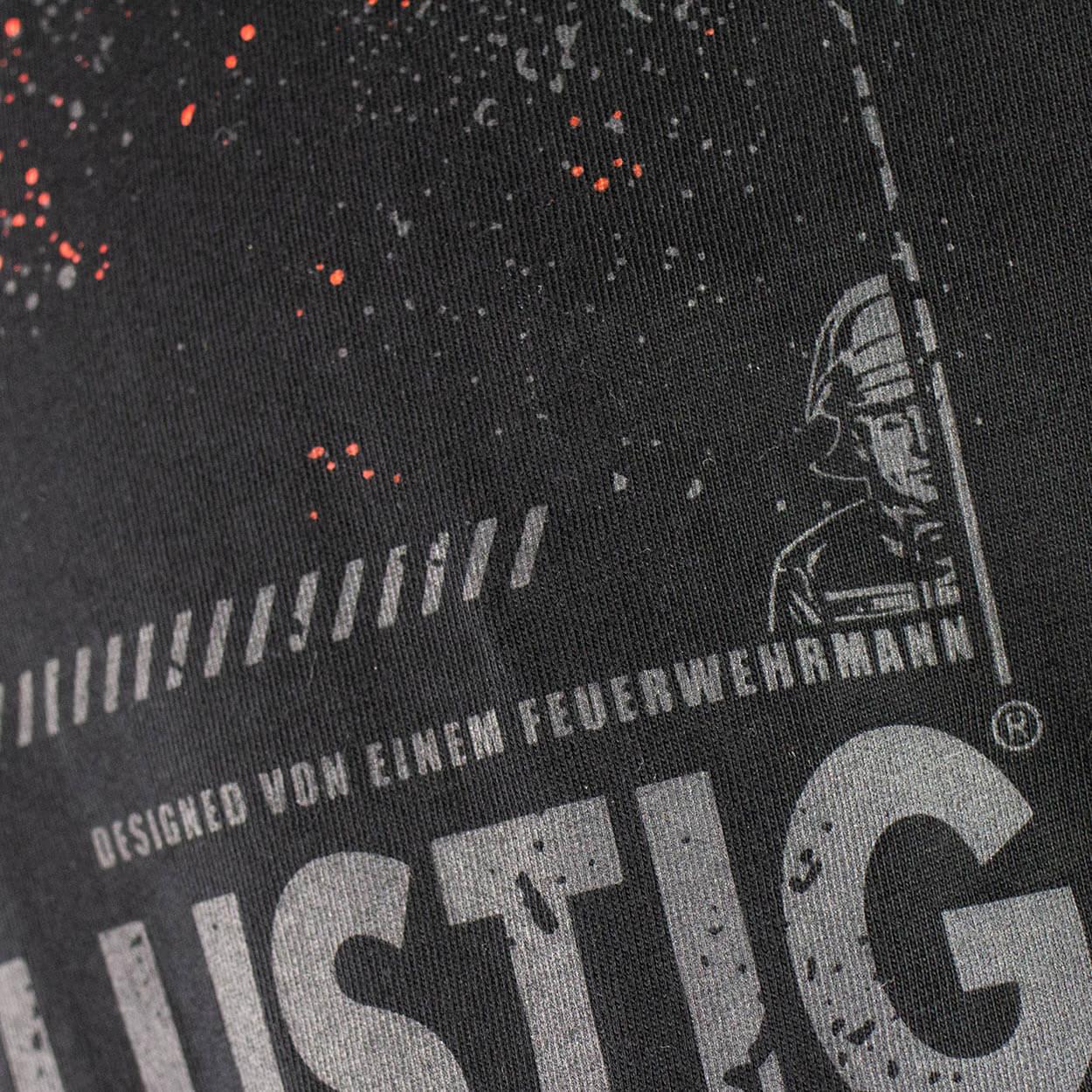Angriffslustig® Design - Frauen T-Shirt schwarz