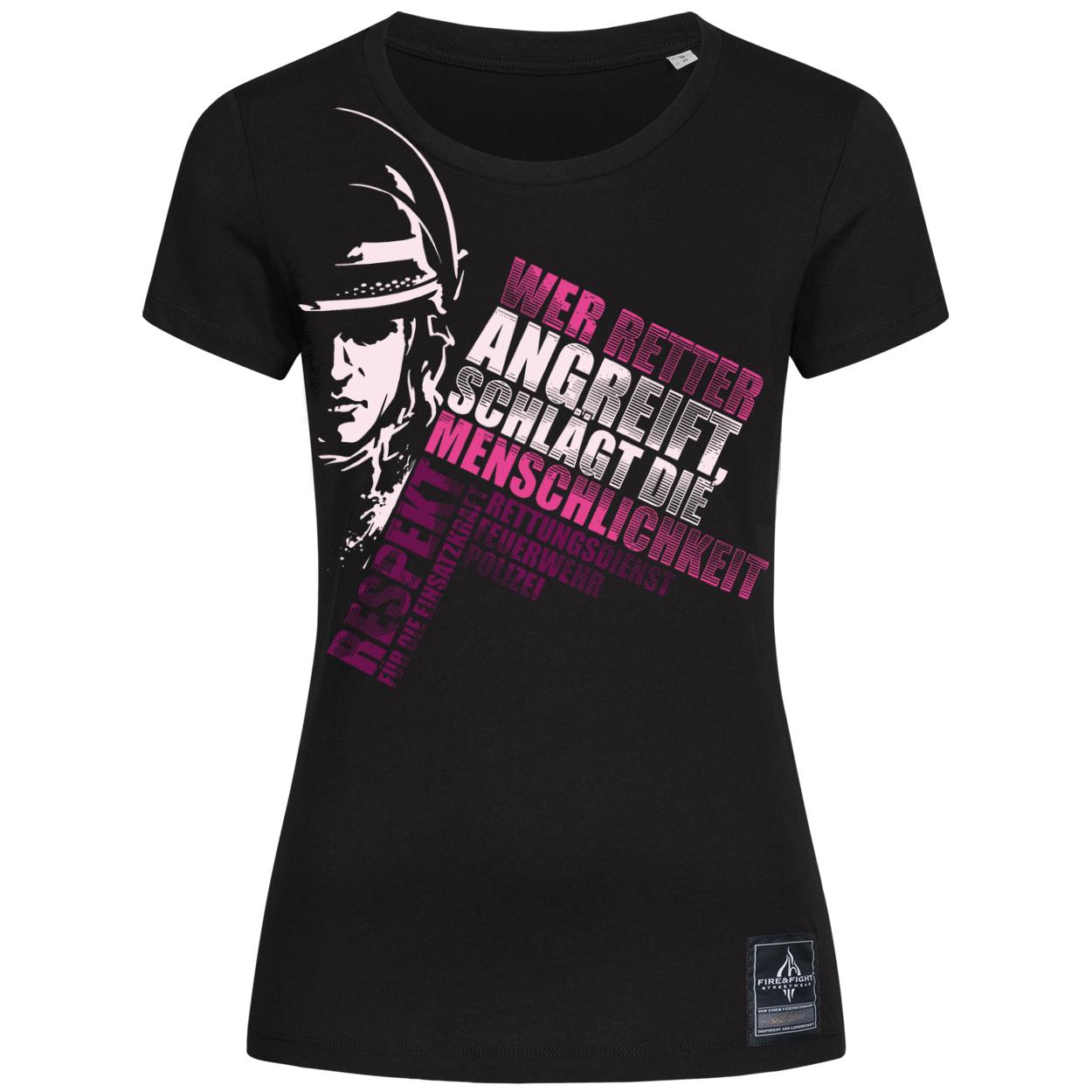 Wer Retter angreift - Frauen T-Shirt