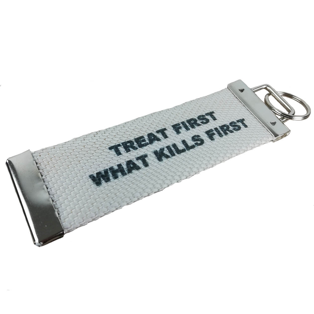 Treat first what kills first - Schlüssel-Anhänger