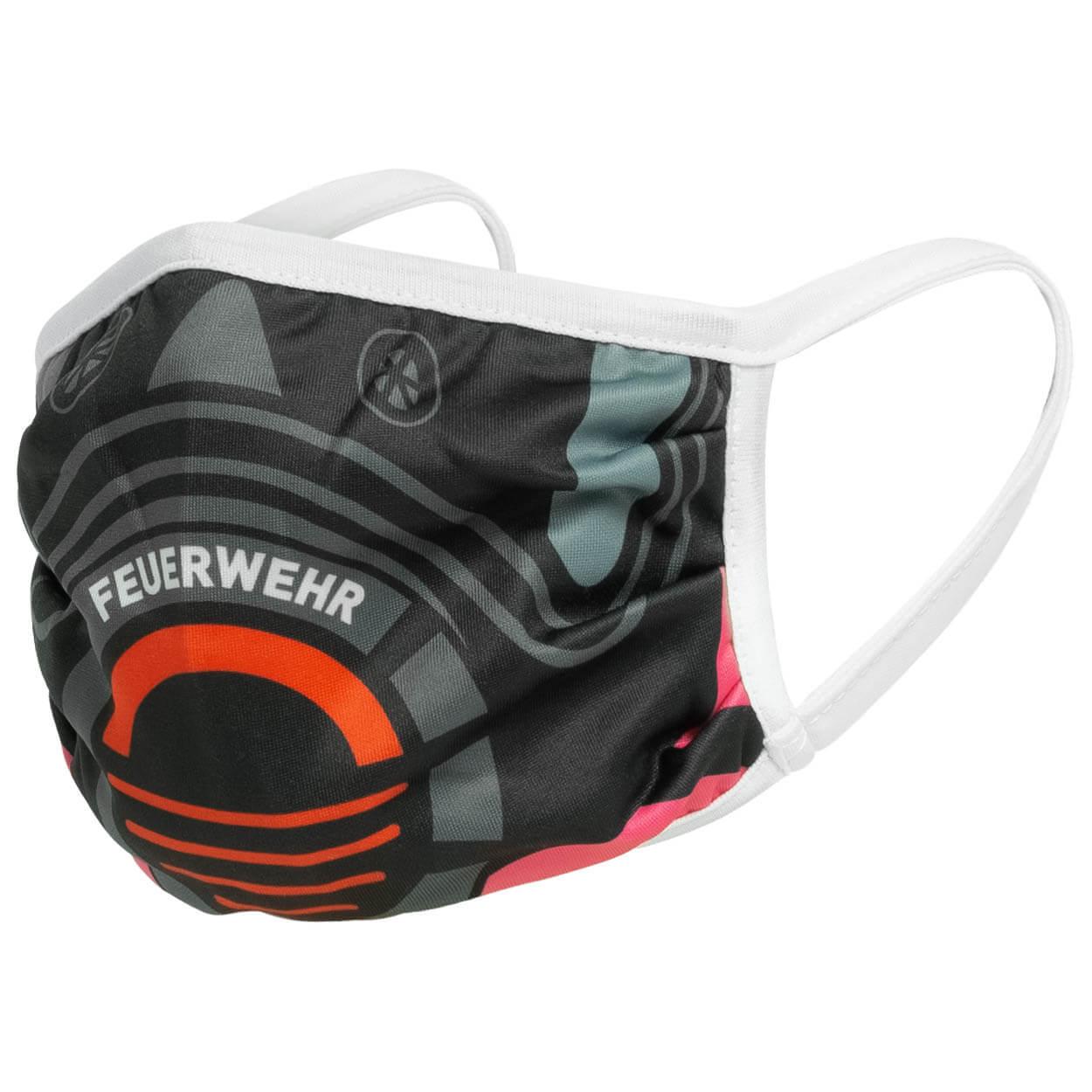 Alltagsmaske Feuerwehr Atemschutz pink