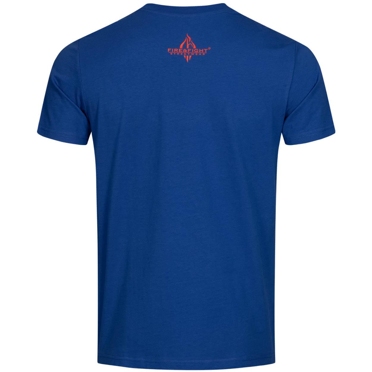 Feuerwehr, die etwas andere Familie - Männer T-Shirt blau