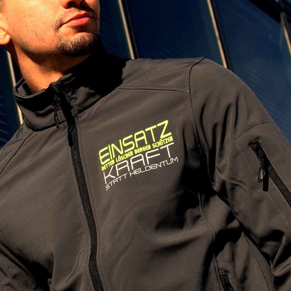 EINSATZKRAFT® Softshelljacke Titanium