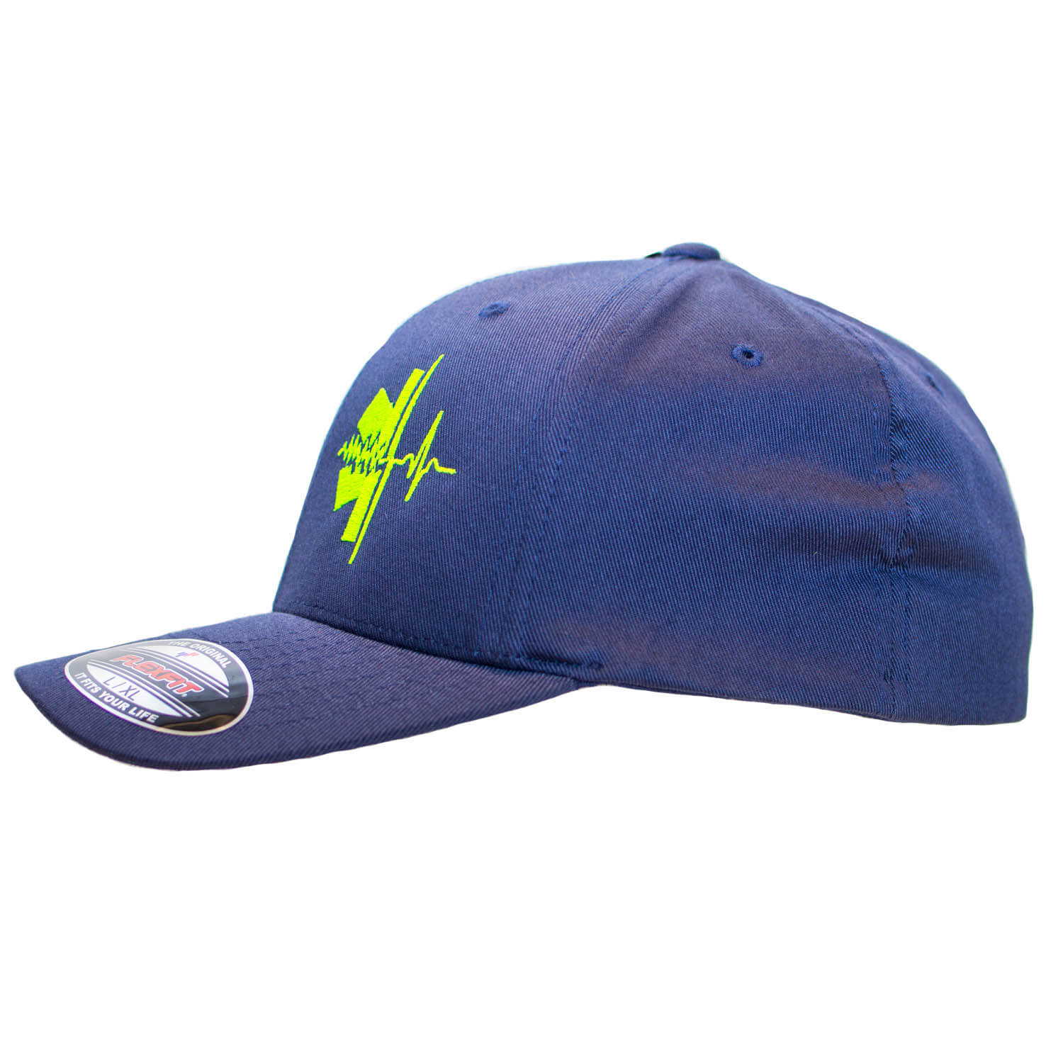 RESCUE Star of Life Basecap Navy - Neon Line