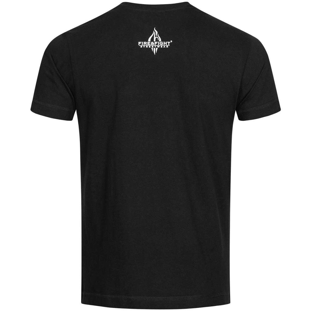 100% Completed Feuerwehr -  Männer T-Shirt schwarz