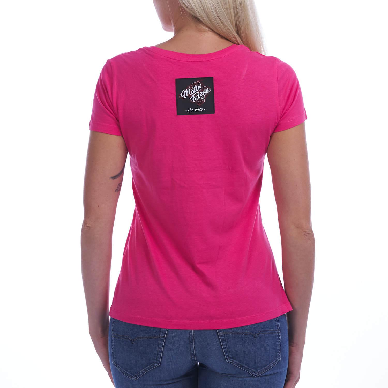 Malle Liebe | Frauen T-Shirt pink