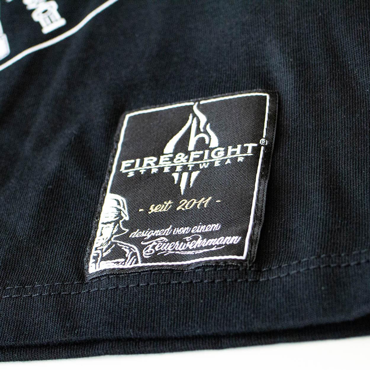 Firefighter for Life - Männer T-Shirt schwarz