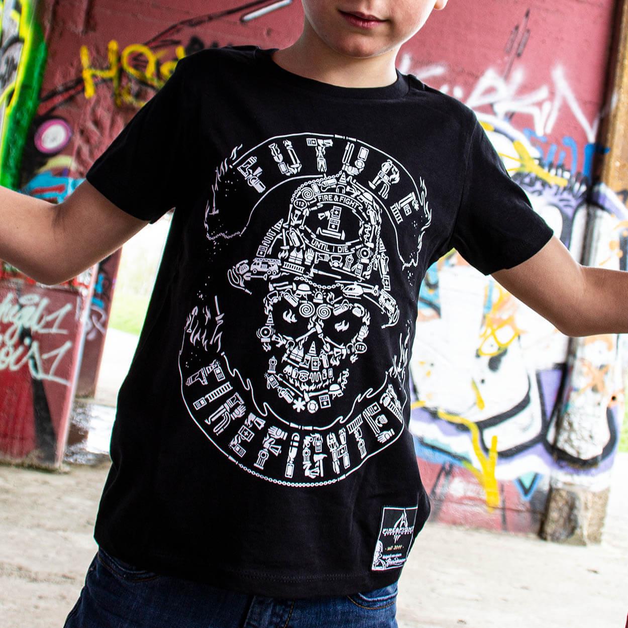 Future Firefighter - Kids T-Shirt