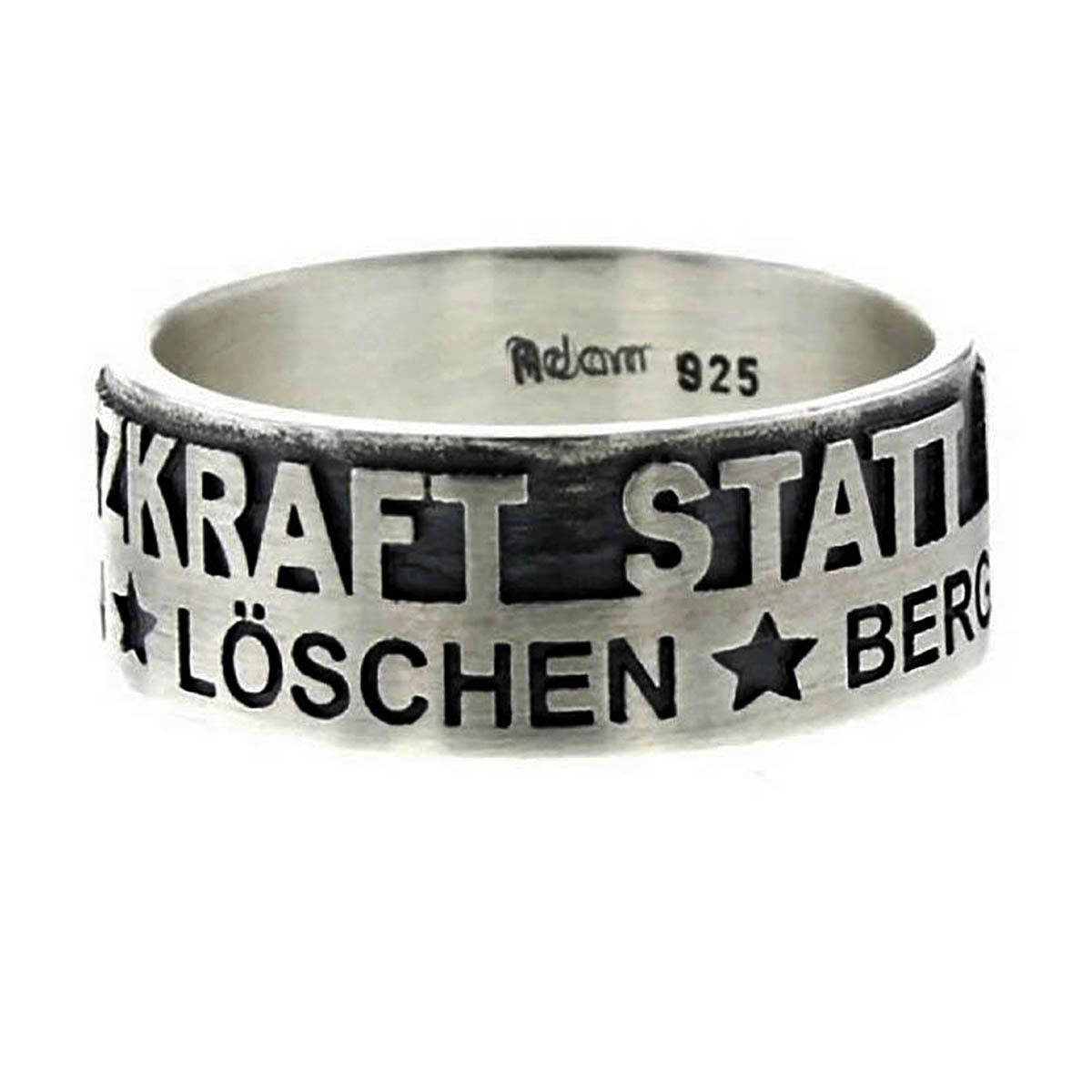 EINSATZKRAFT® - Ring Sterlingsilber