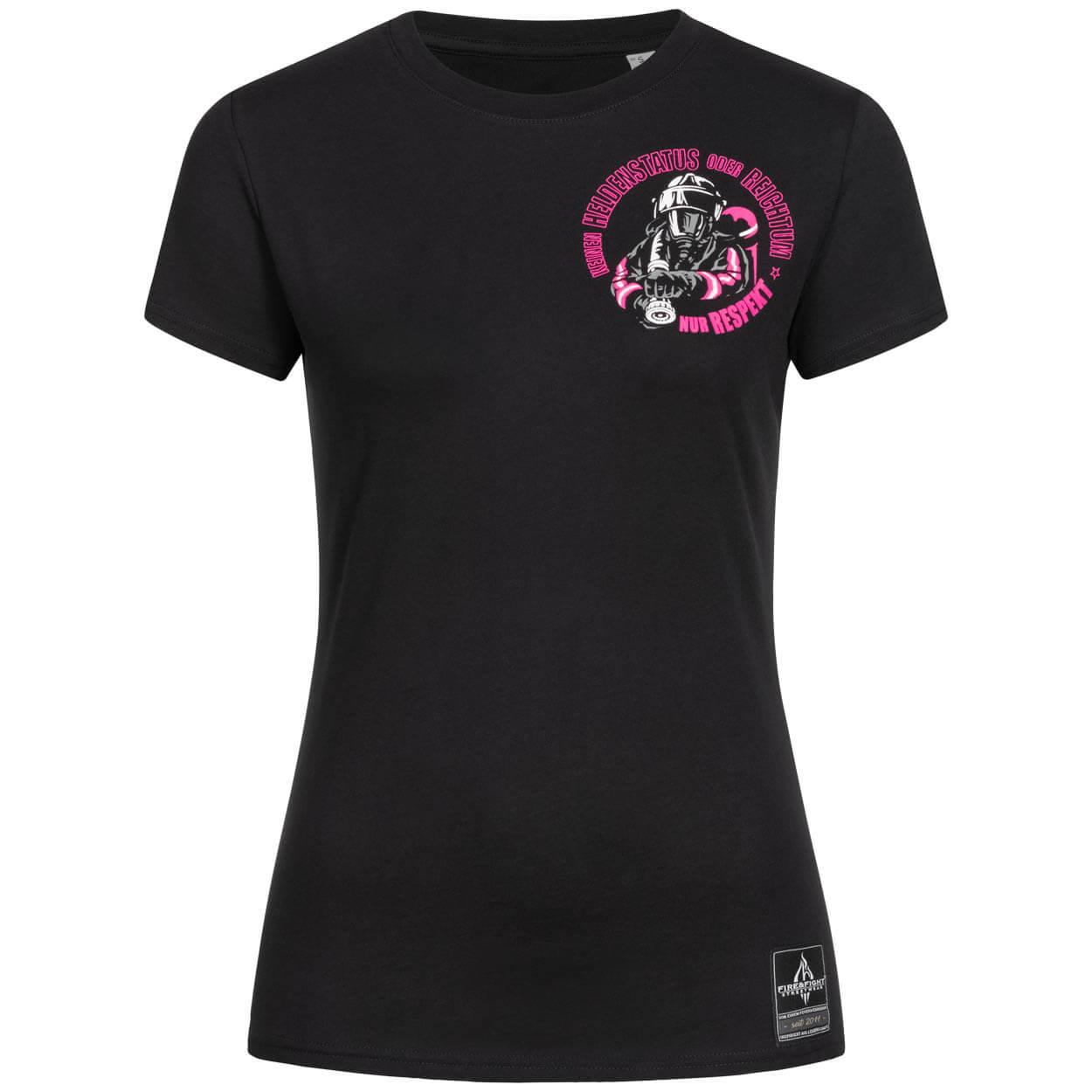 Dein Respekt, keinen Reichtum - Frauen T-Shirt schwarz