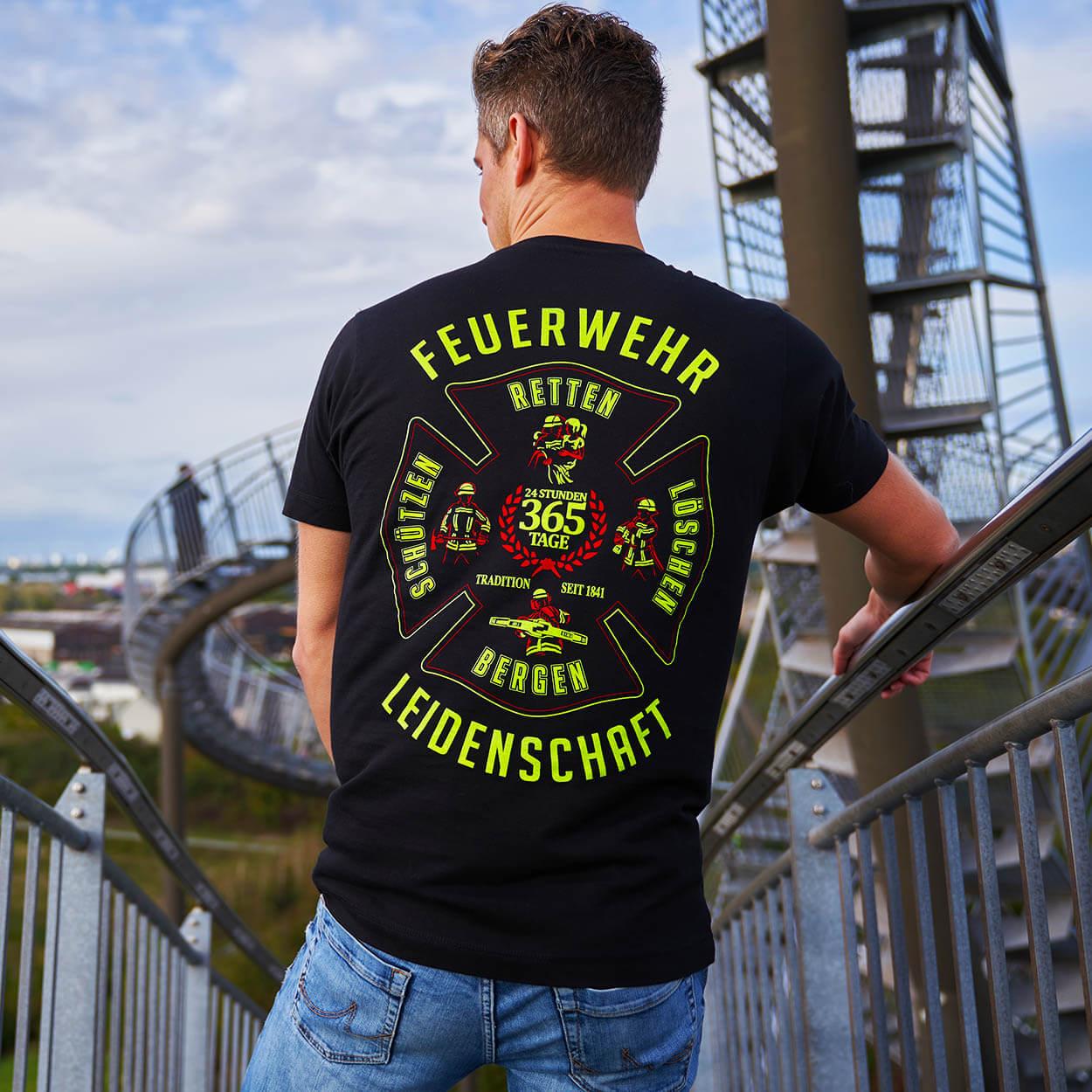 Leidenschaft Feuerwehrmann T-Shirt
