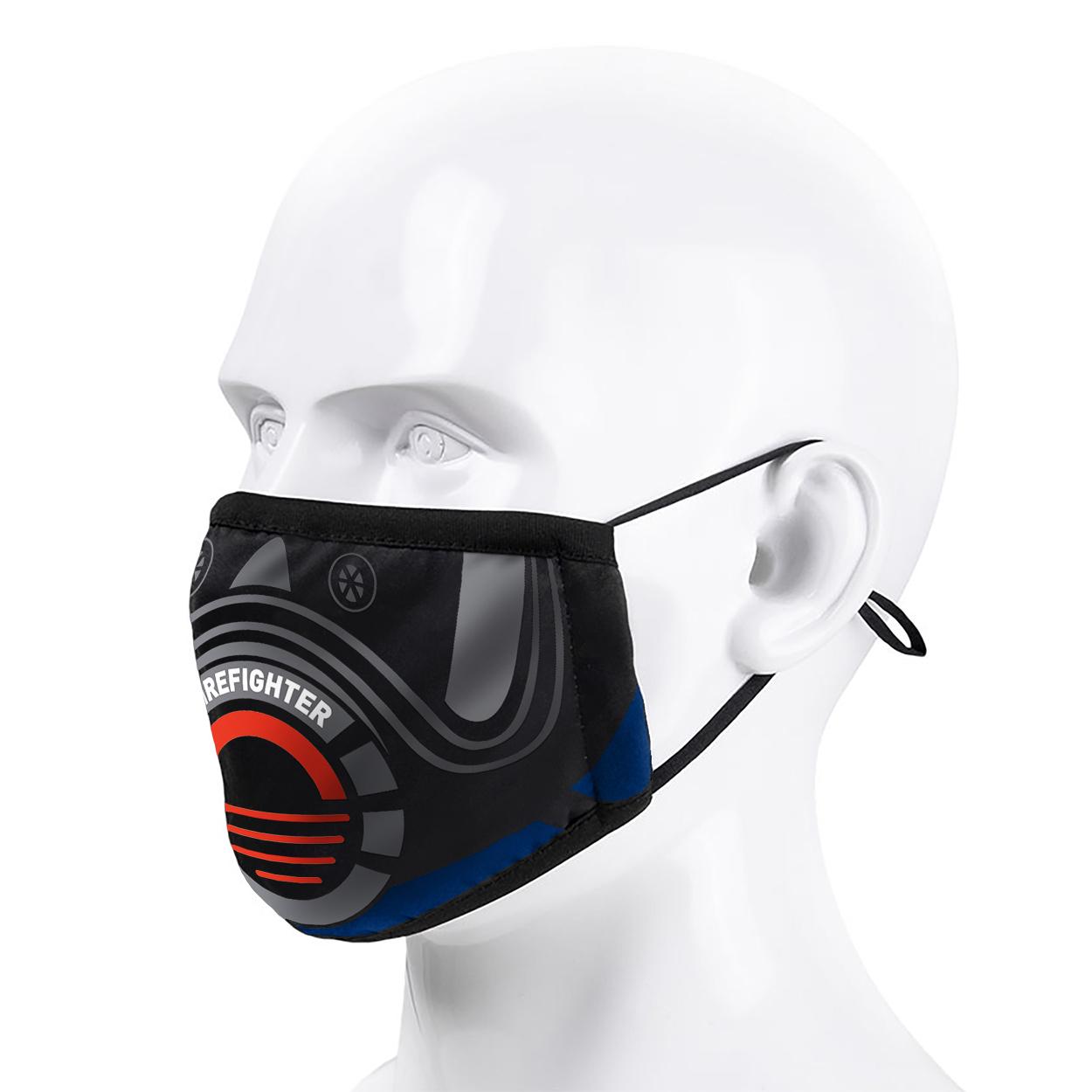 Alltagsmaske Firefighter Design