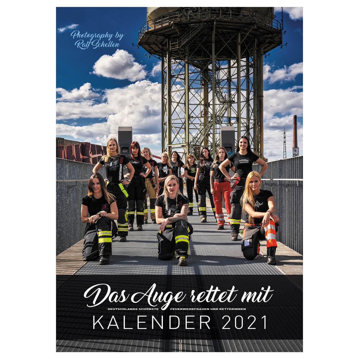 Feuerwehr Kalender 2021 - Das Auge rettet mit