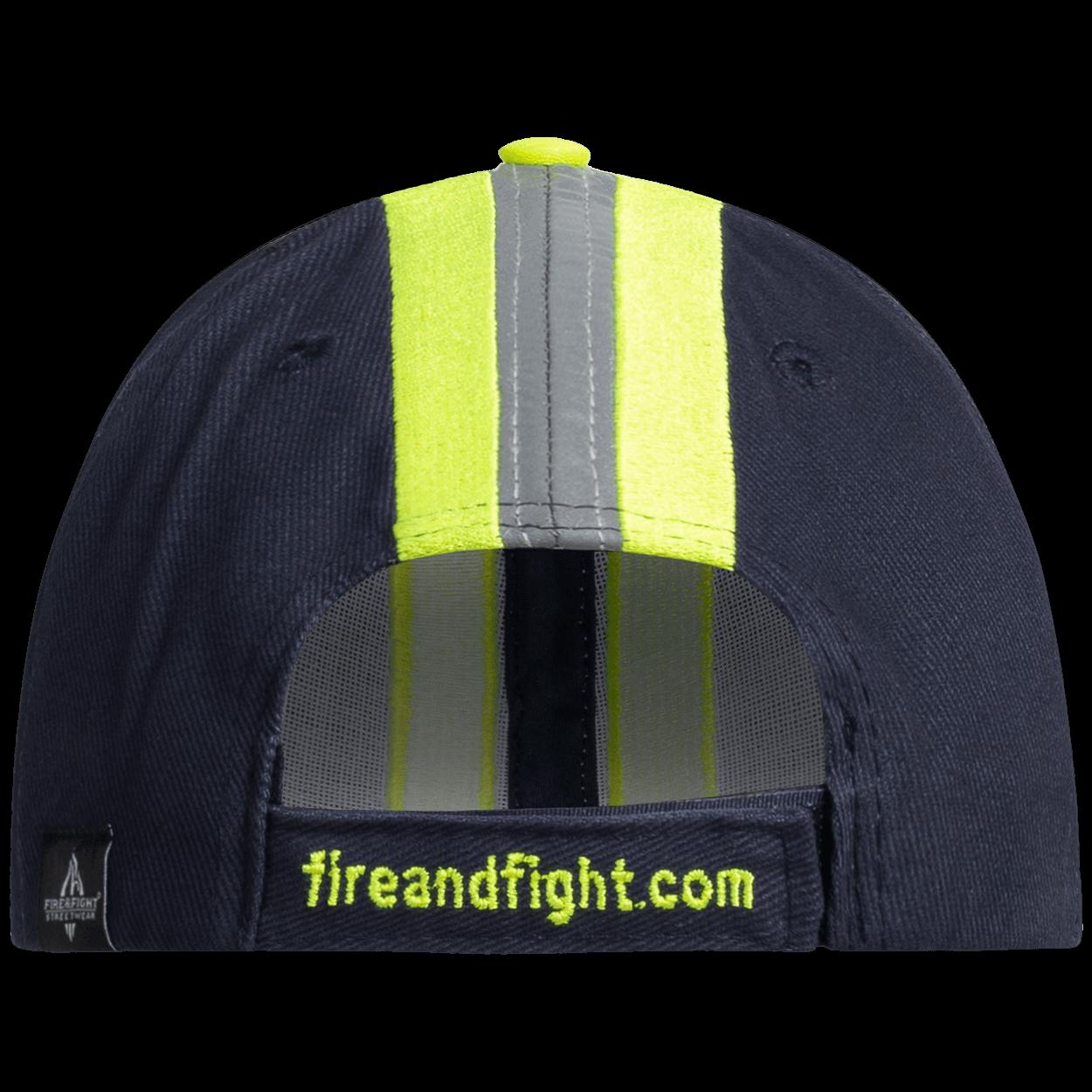 Feuerwehr & Rettungsdienst Reflexstreifen Design Cap Navy