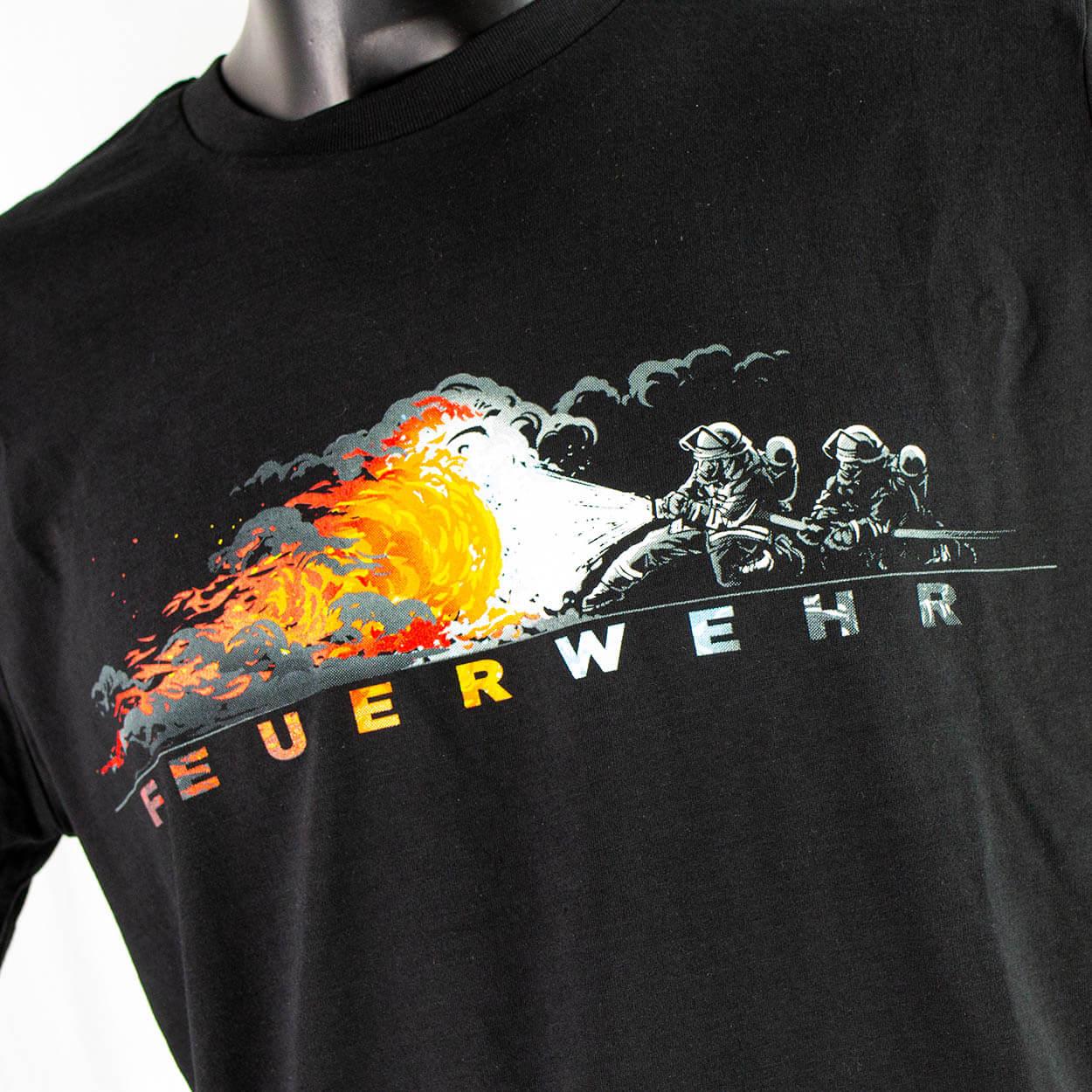 Angriffstrupp Feuerwehr - Kinder T-Shirt