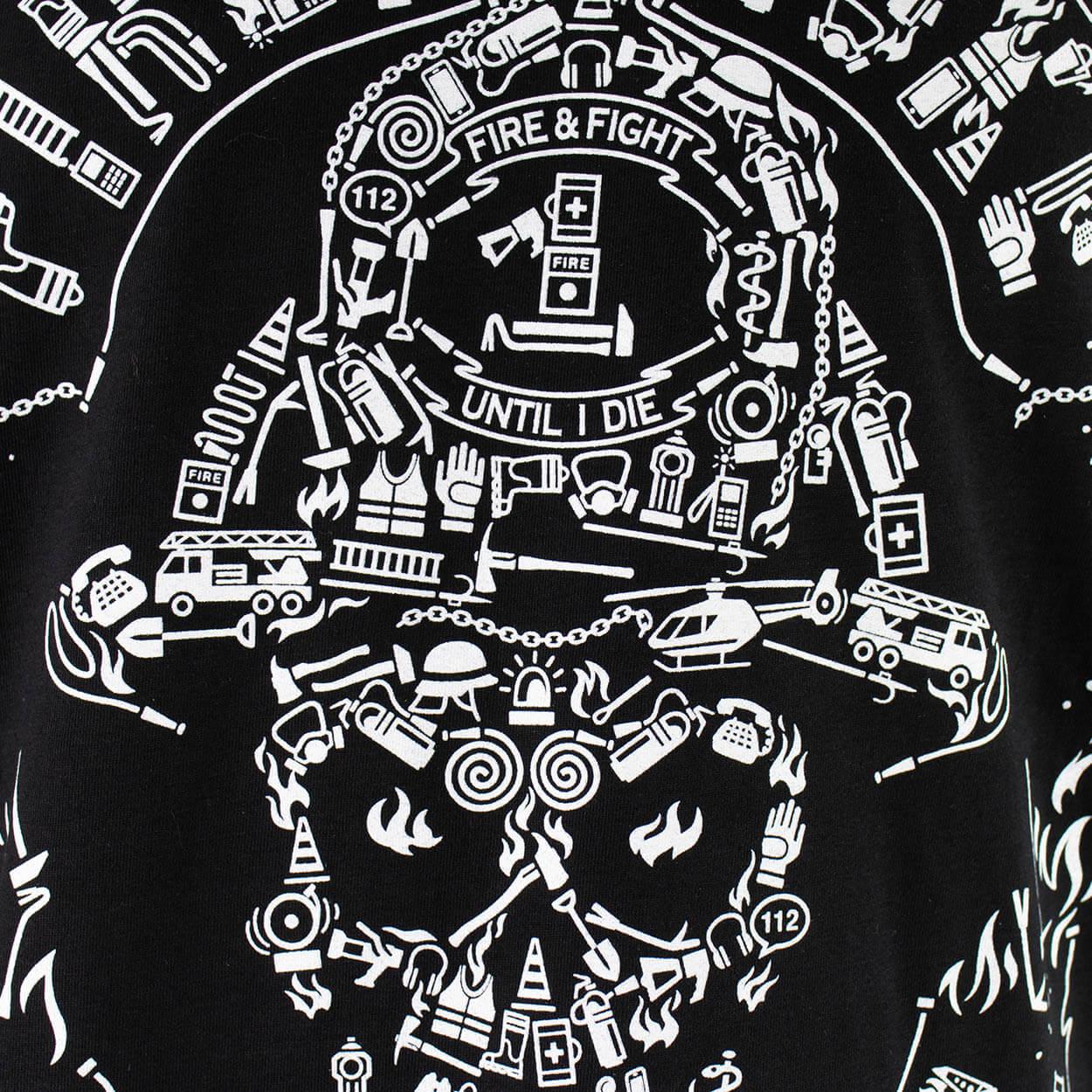 Fire Smoke & Rock´n Roll Design 2021 - Männer T-Shirt