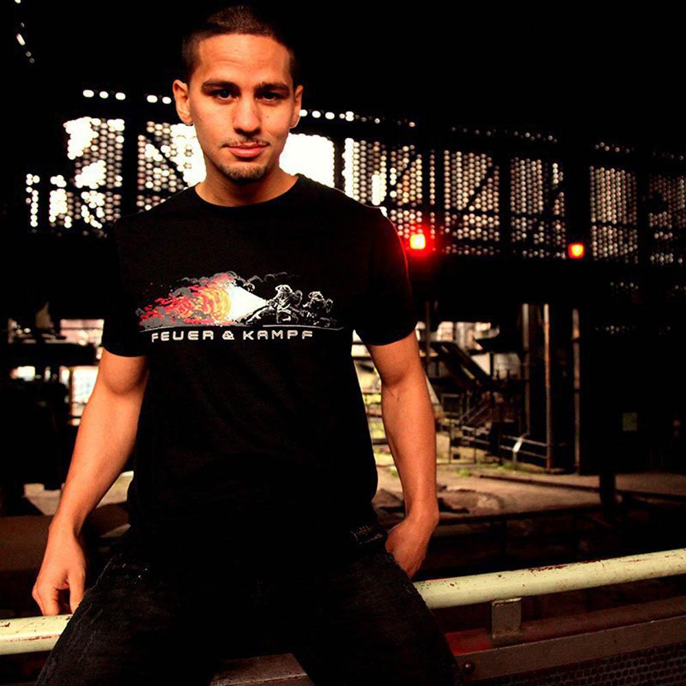 Feuerwehr Angriffstrupp Design - Männer T-Shirt