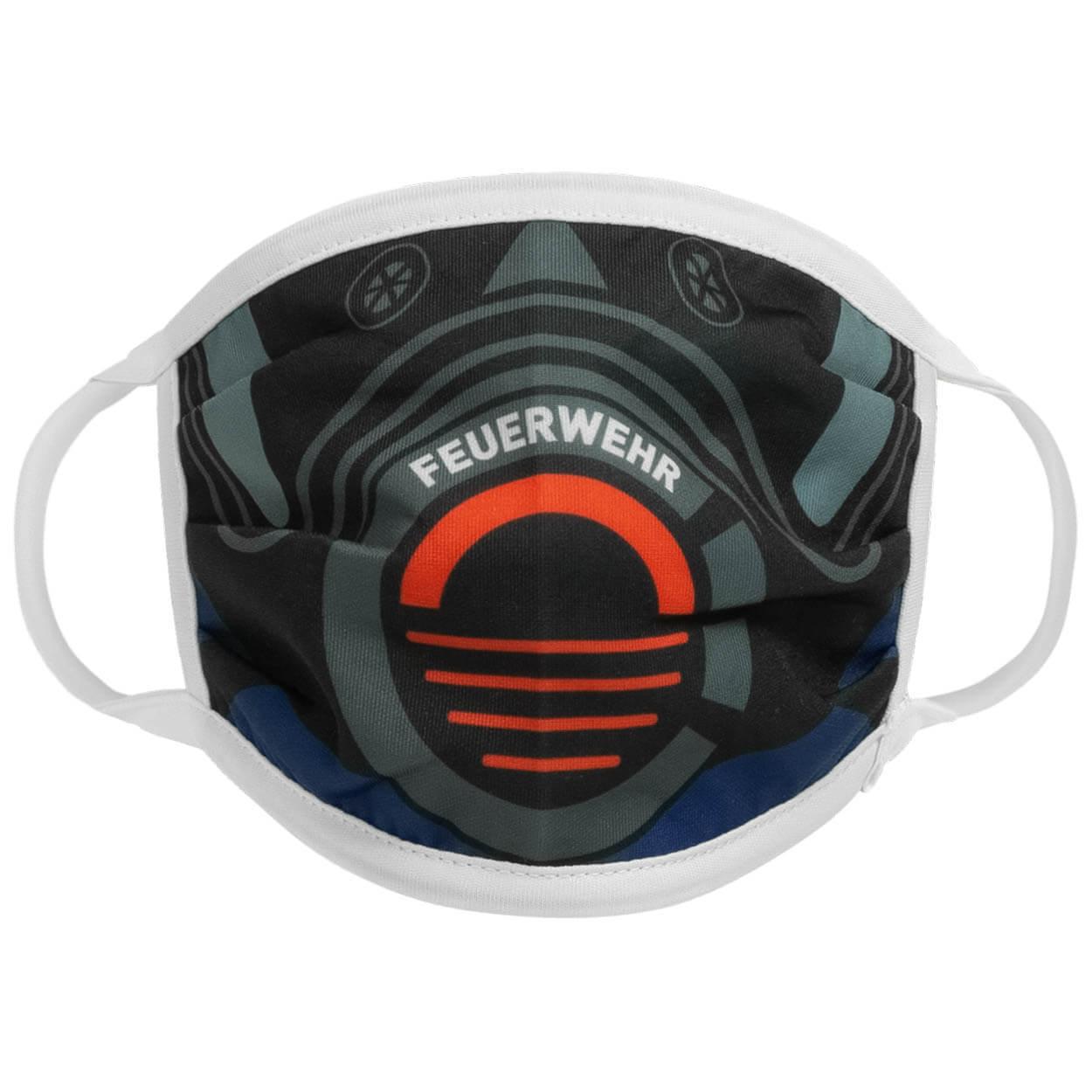 Alltagsmaske Feuerwehr Atemschutz Farbe navy