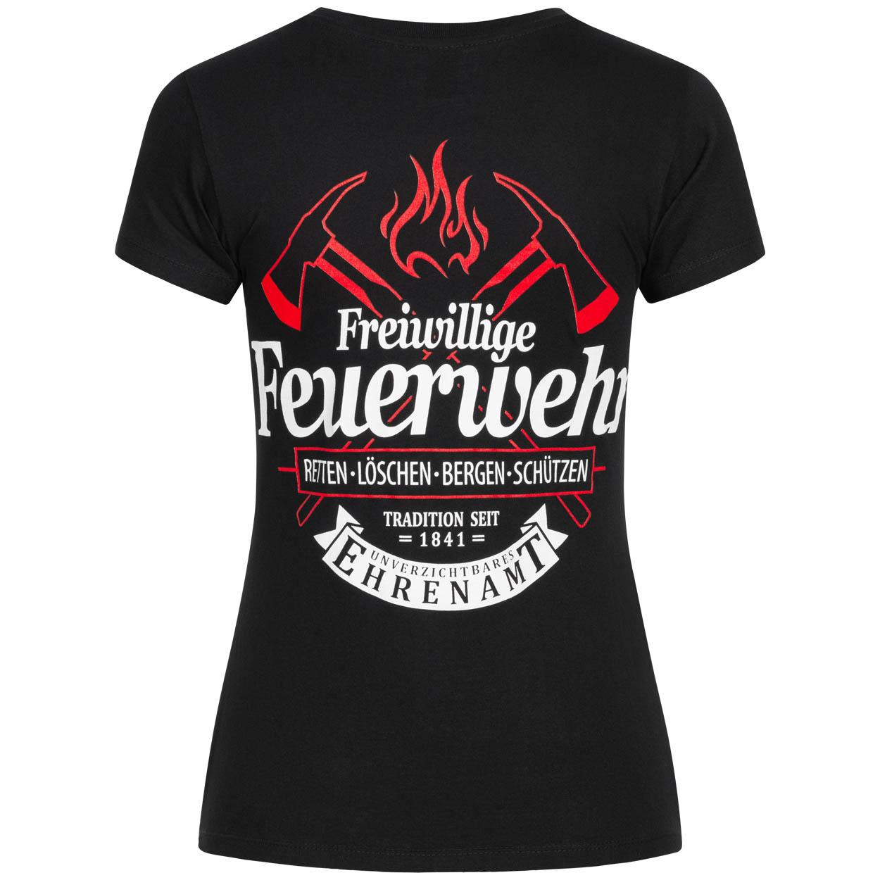 Unverzichtbares Ehrenamt Feuerwehrfrau