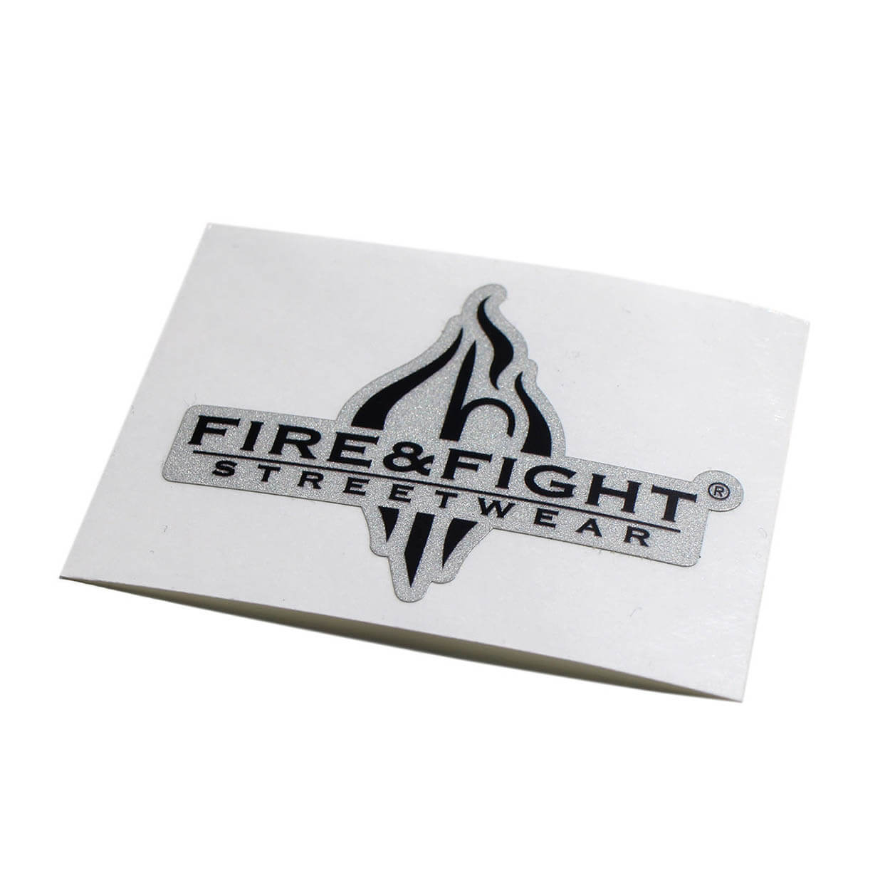 FIRE & FIGHT Streetwear® Logo reflektierend