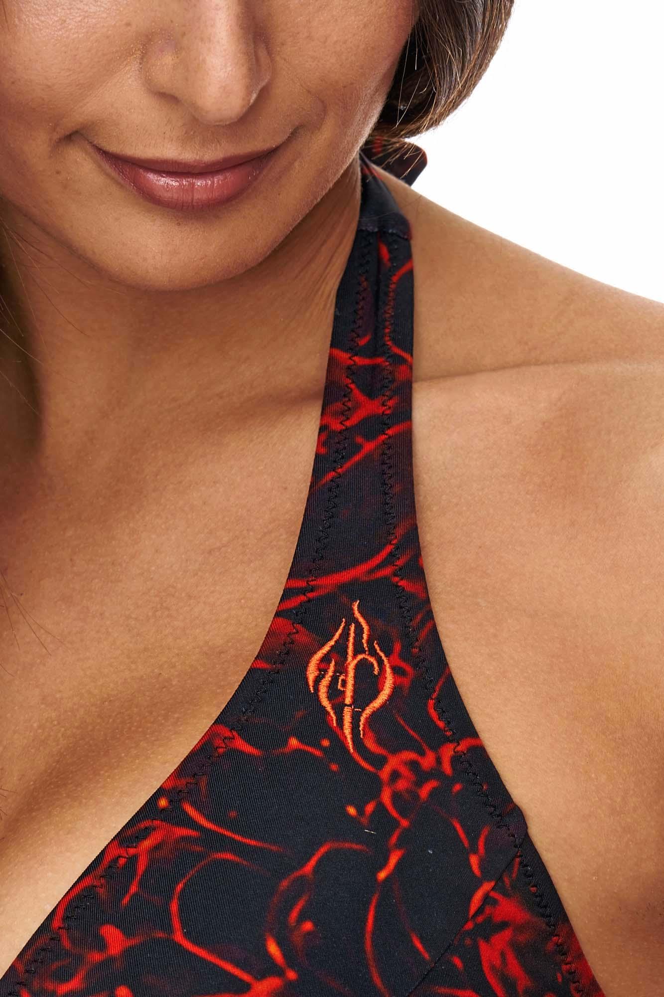 Bikini Flammen Design