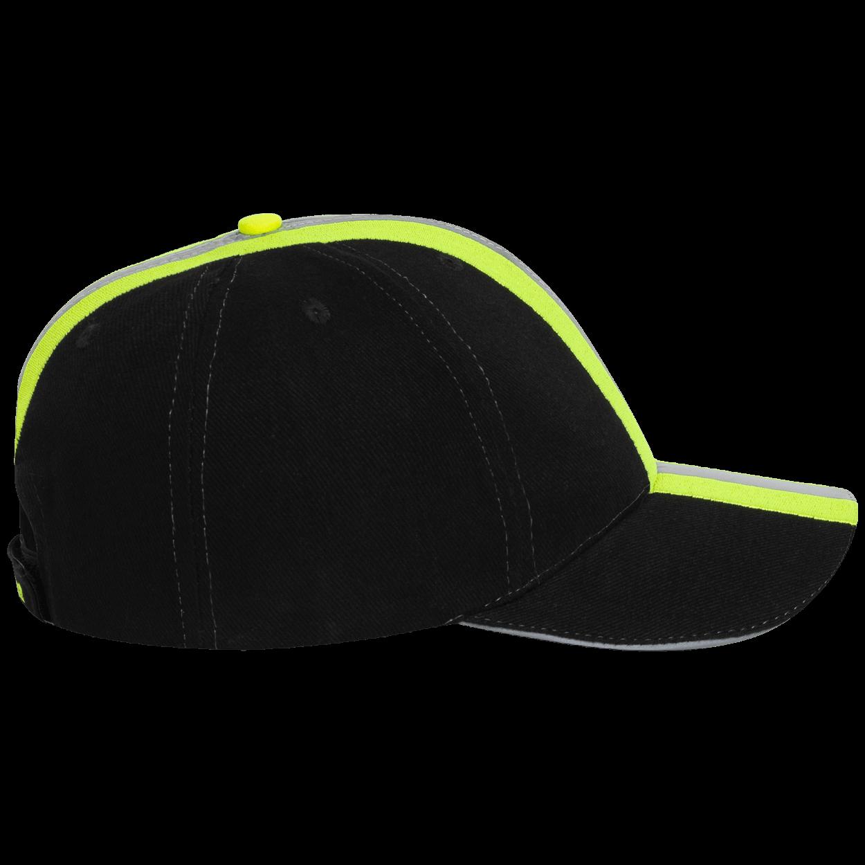 Feuerwehr & Rettungsdienst Reflexstreifen Design Cap schwarz