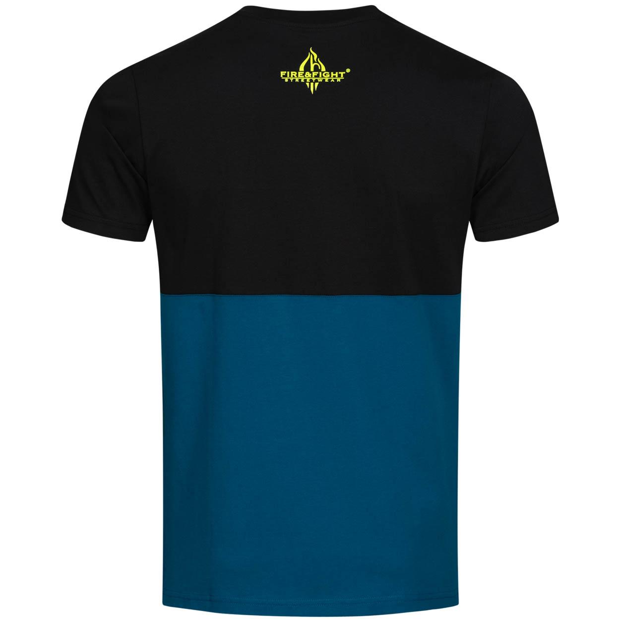 Feuerwehr, die etwas andere Familie - Männer Kontrast T-Shirt