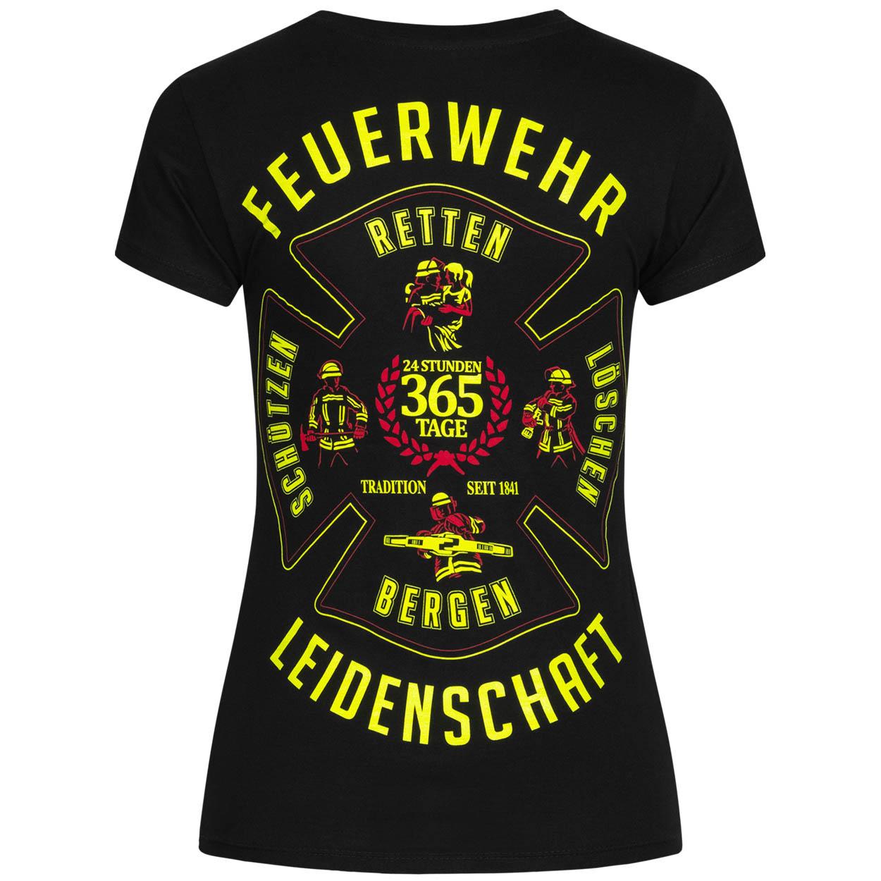 Leidenschaft Feuerwehrfrauen T-Shirt
