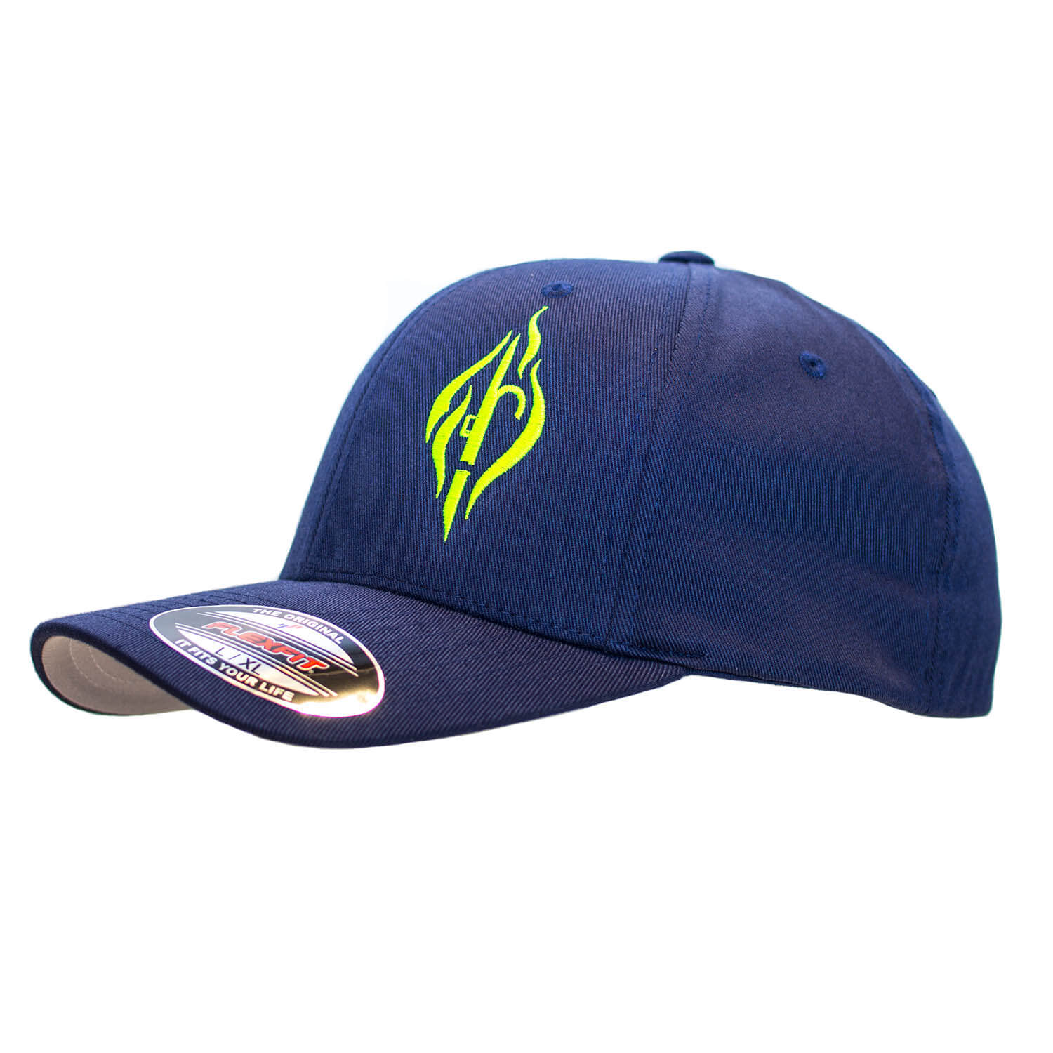 FIRE & HOOK Basecap Navy - Neon Line
