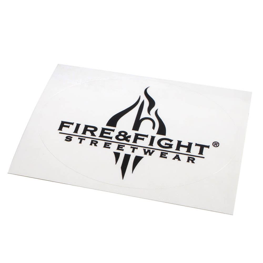 FIRE & FIGHT Streetwear® Logosticker