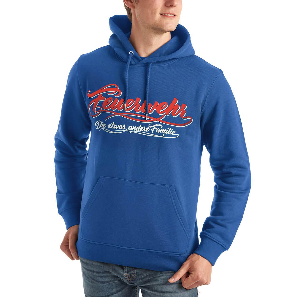 Feuerwehr, die etwas andere Familie - Männer Kapuzensweater blau
