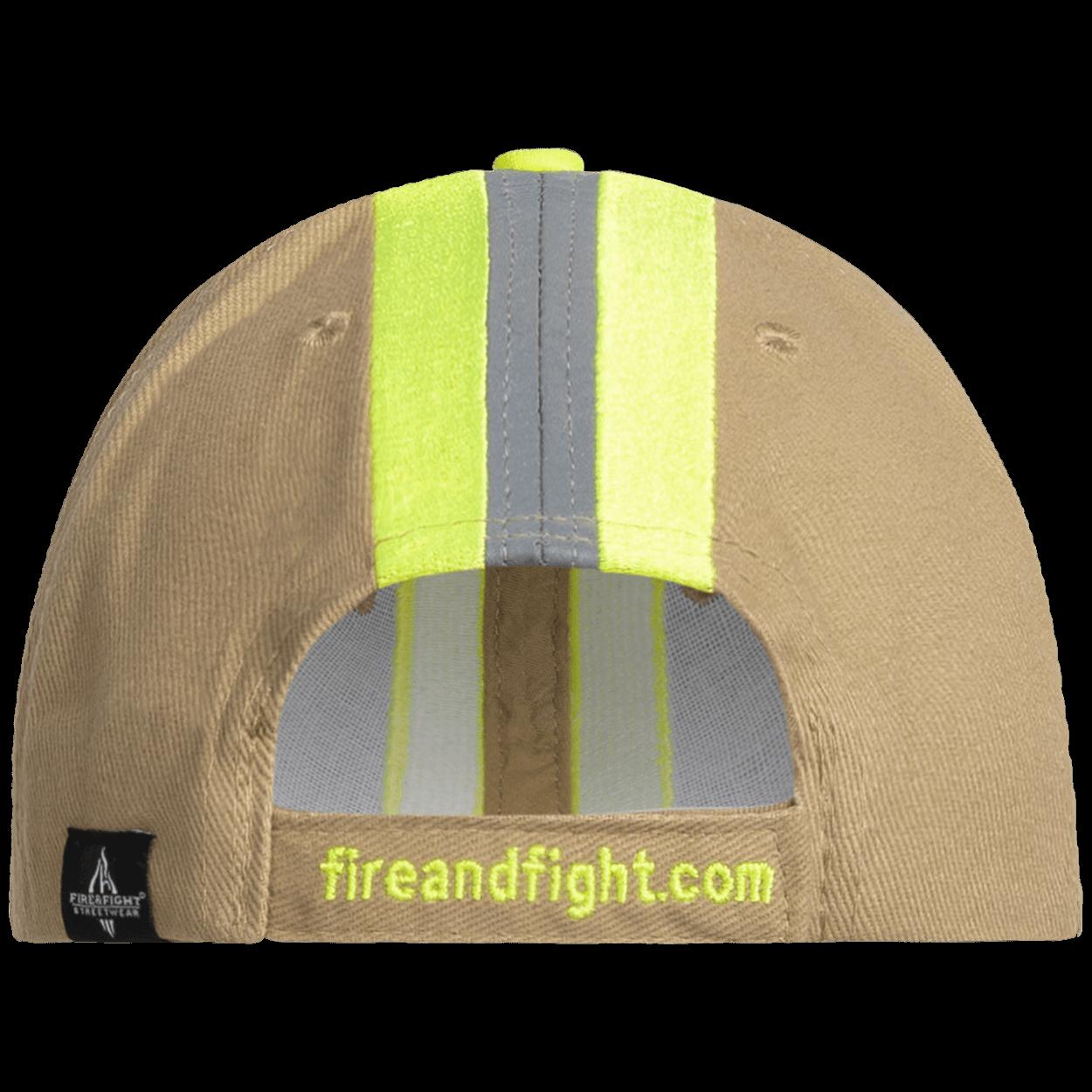 Feuerwehr & Rettung Reflexstreifen Design Cap sand
