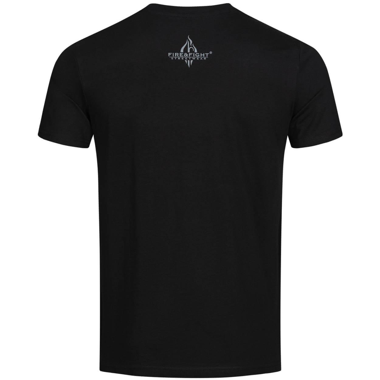Feuerwehr, die etwas andere Familie - Männer T-Shirt schwarz