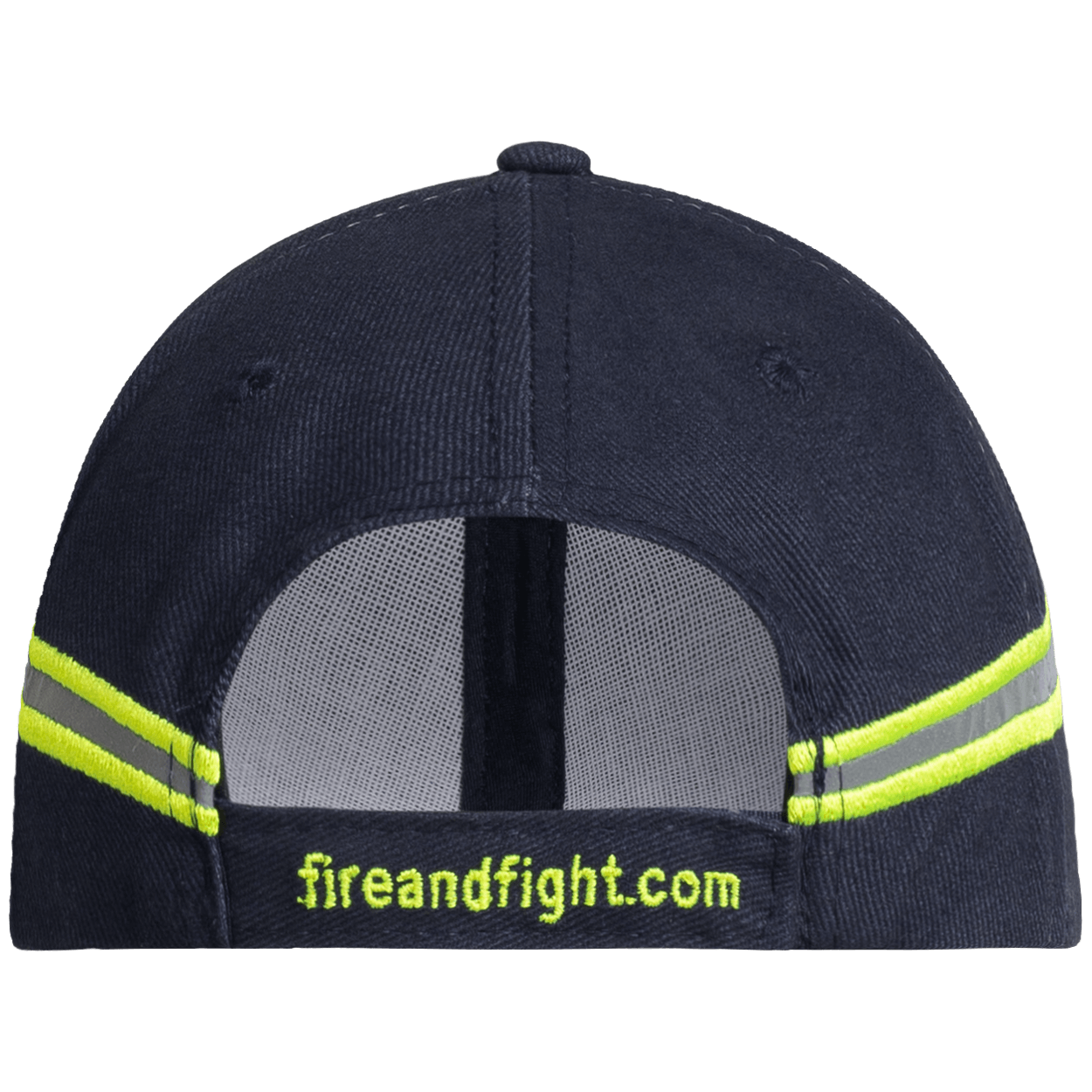 Feuerwehr Basecap Reflexstreifen Design - Farbe navy