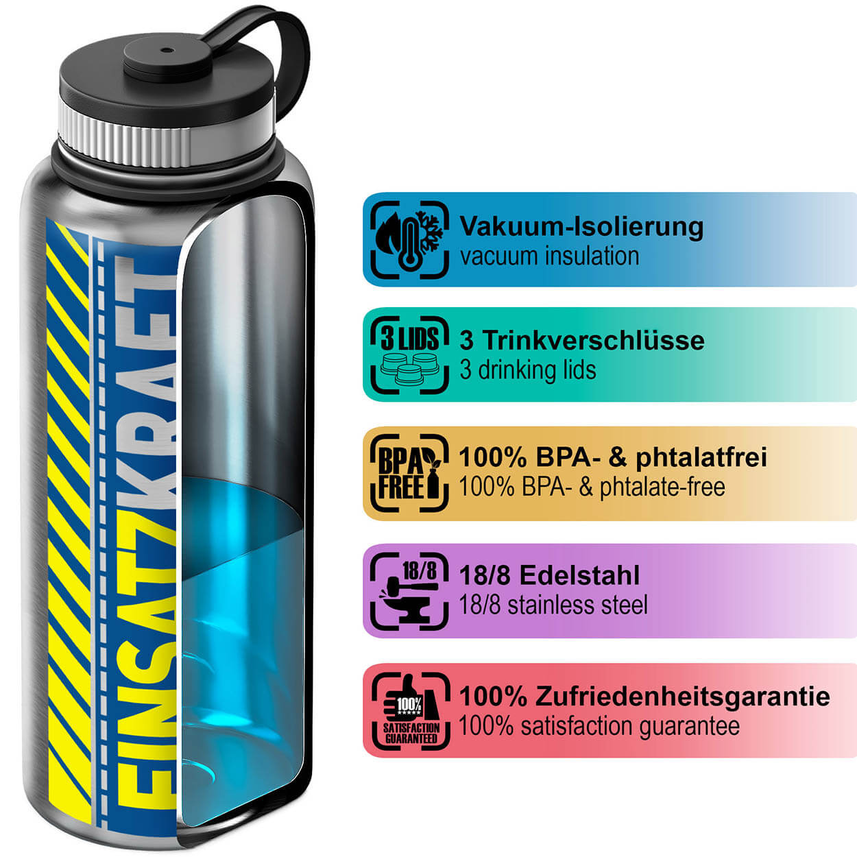 Polizei EINSATZKRAFT® Thermobecher