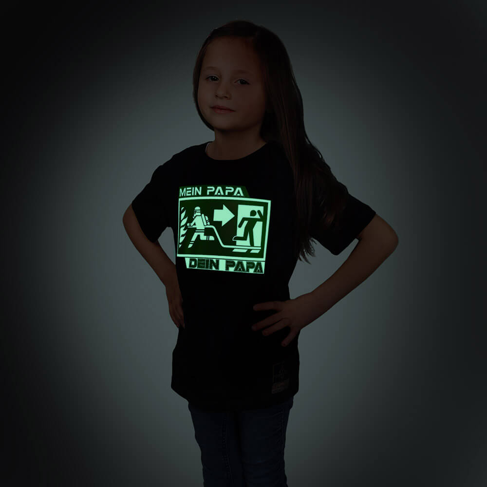 Dein Papa - Mein Papa Kids T-Shirt