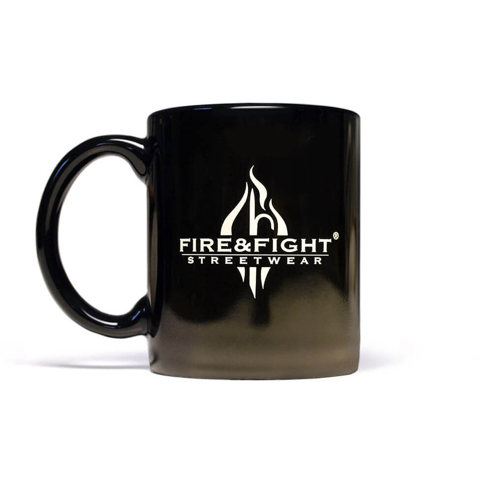 FIRE & FIGHT® Streetwear® Kaffeebecher