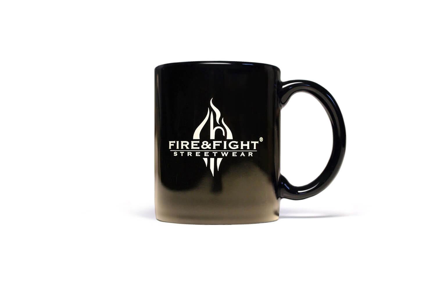 FIRE SMOKE & ROCK´n ROLL Kaffeebecher