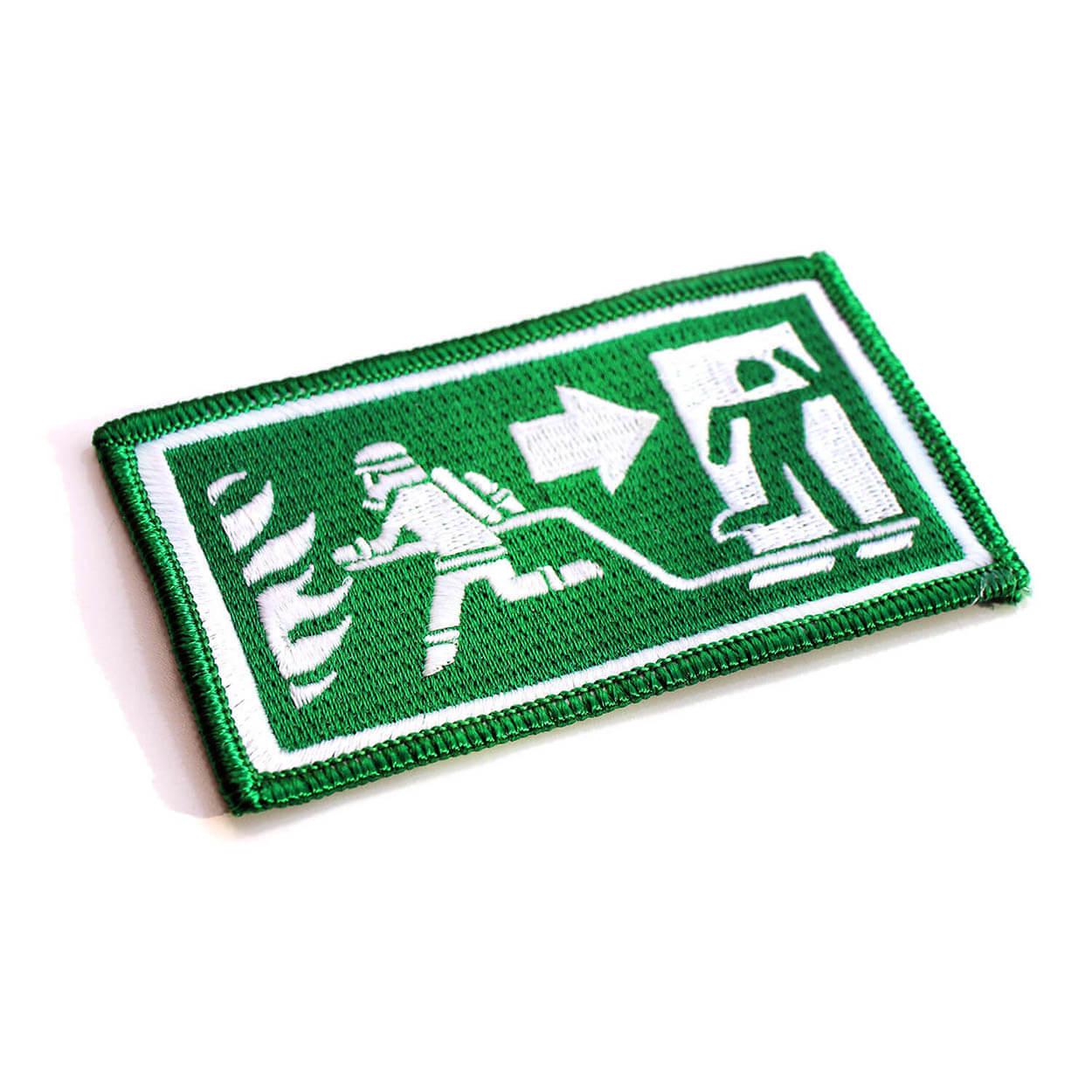 Dein Fluchtweg - Mein Arbeitsweg Emblem