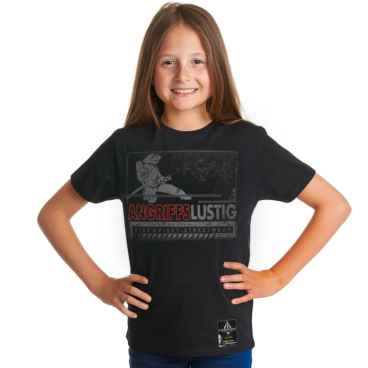 Angriffslustig® Design Kids T-Shirt