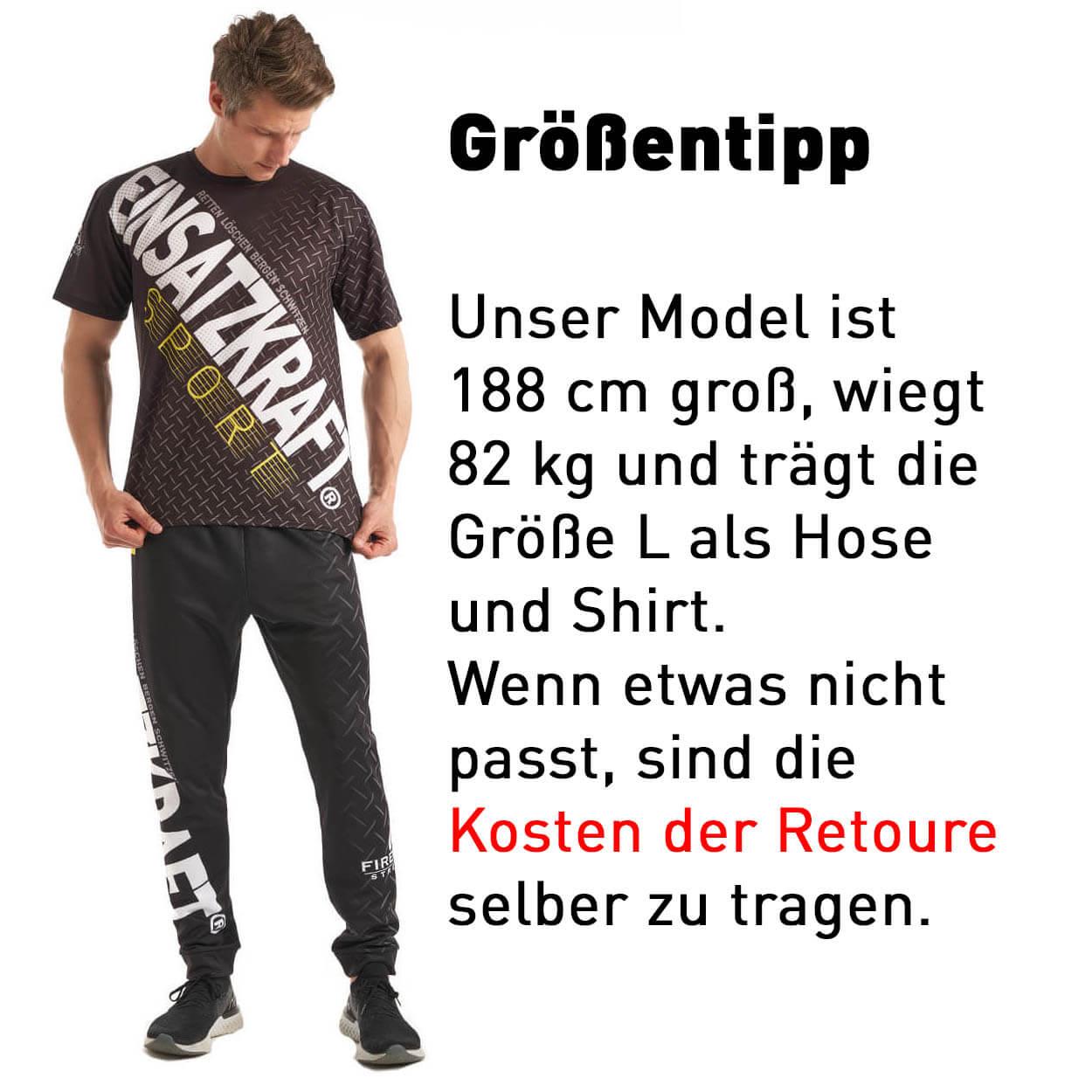 EINSATZKRAFT® Fitness Männerhose
