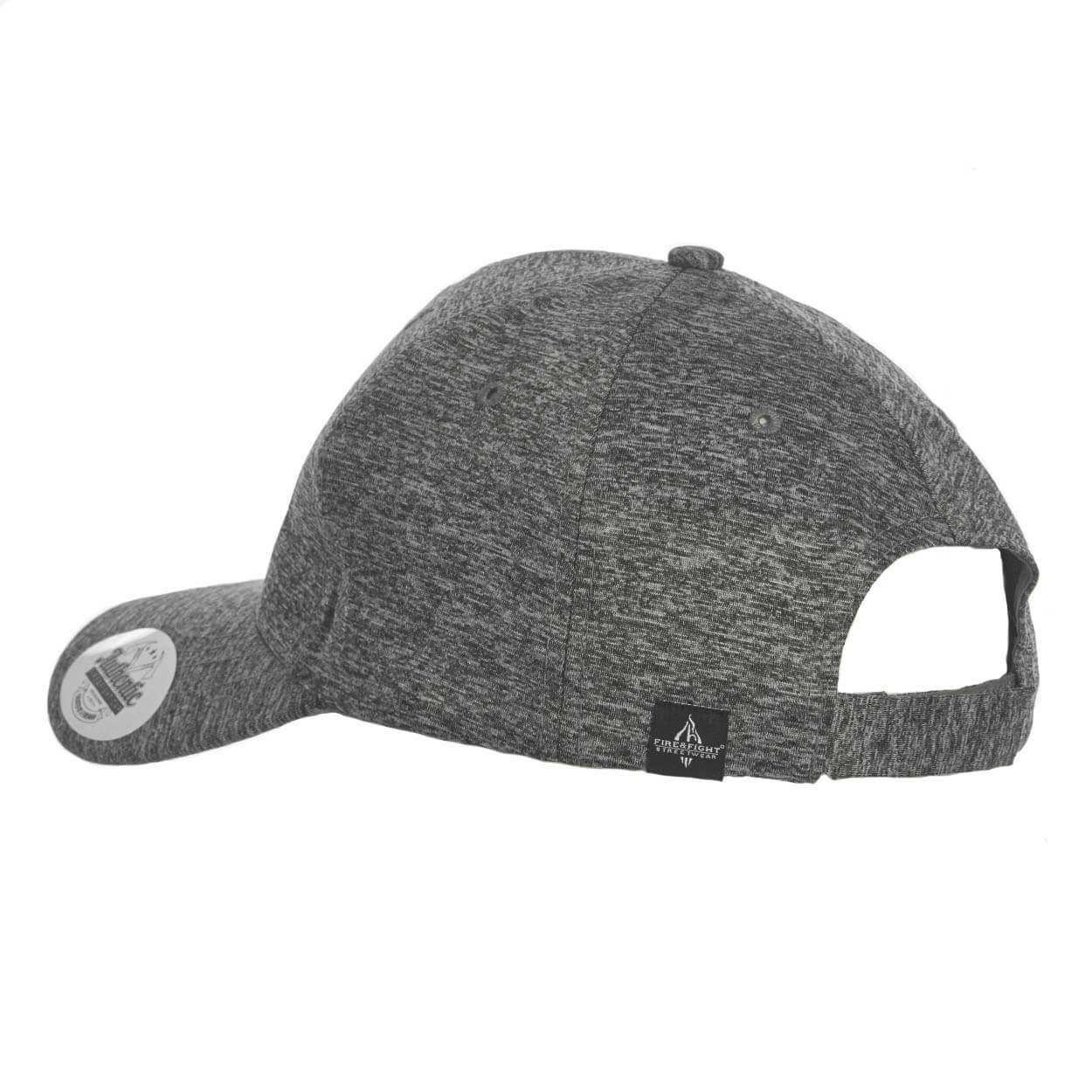 Basecap FIRE & HOOK grau/schwarz