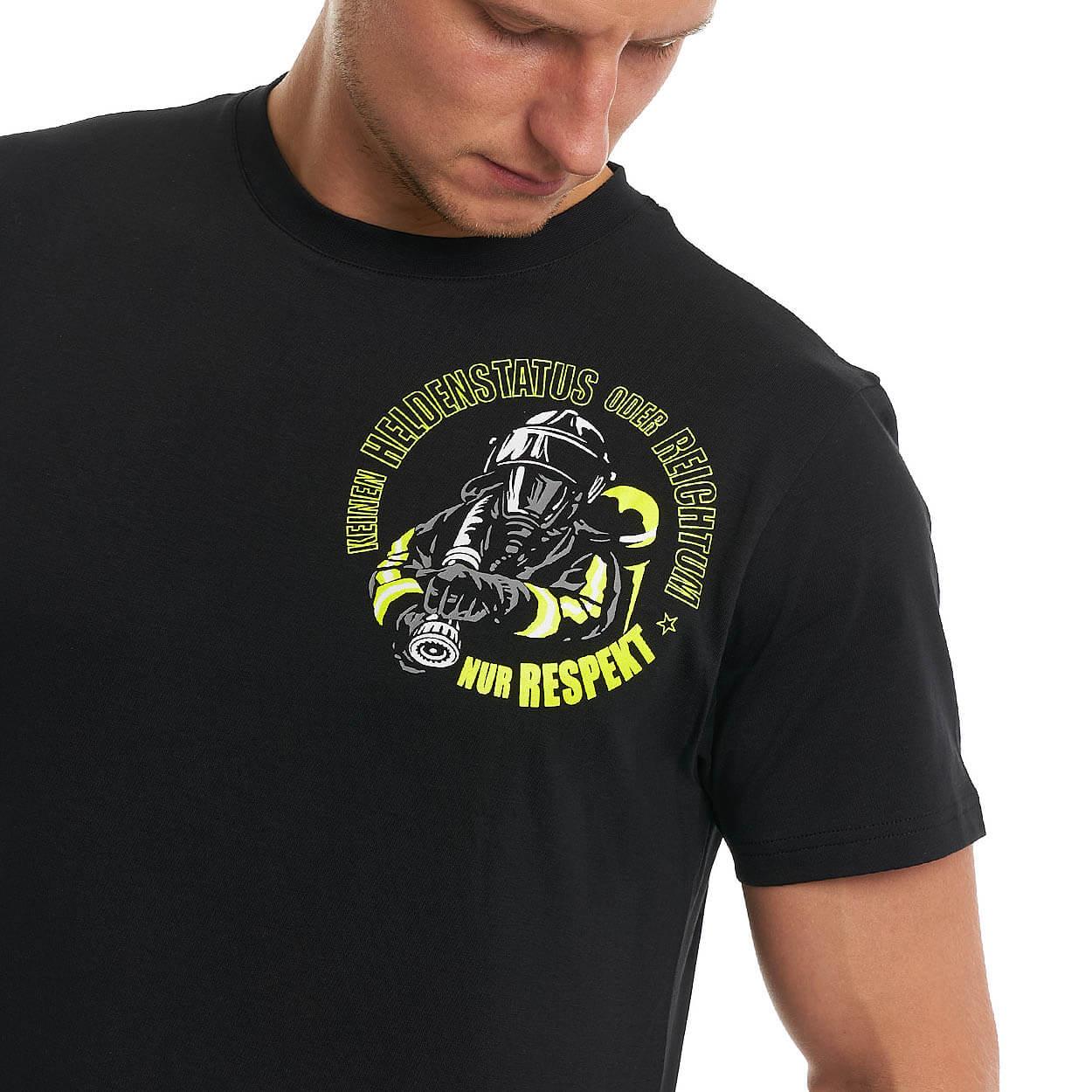 Dein Respekt, keinen Reichtum - Männer T-Shirt schwarz