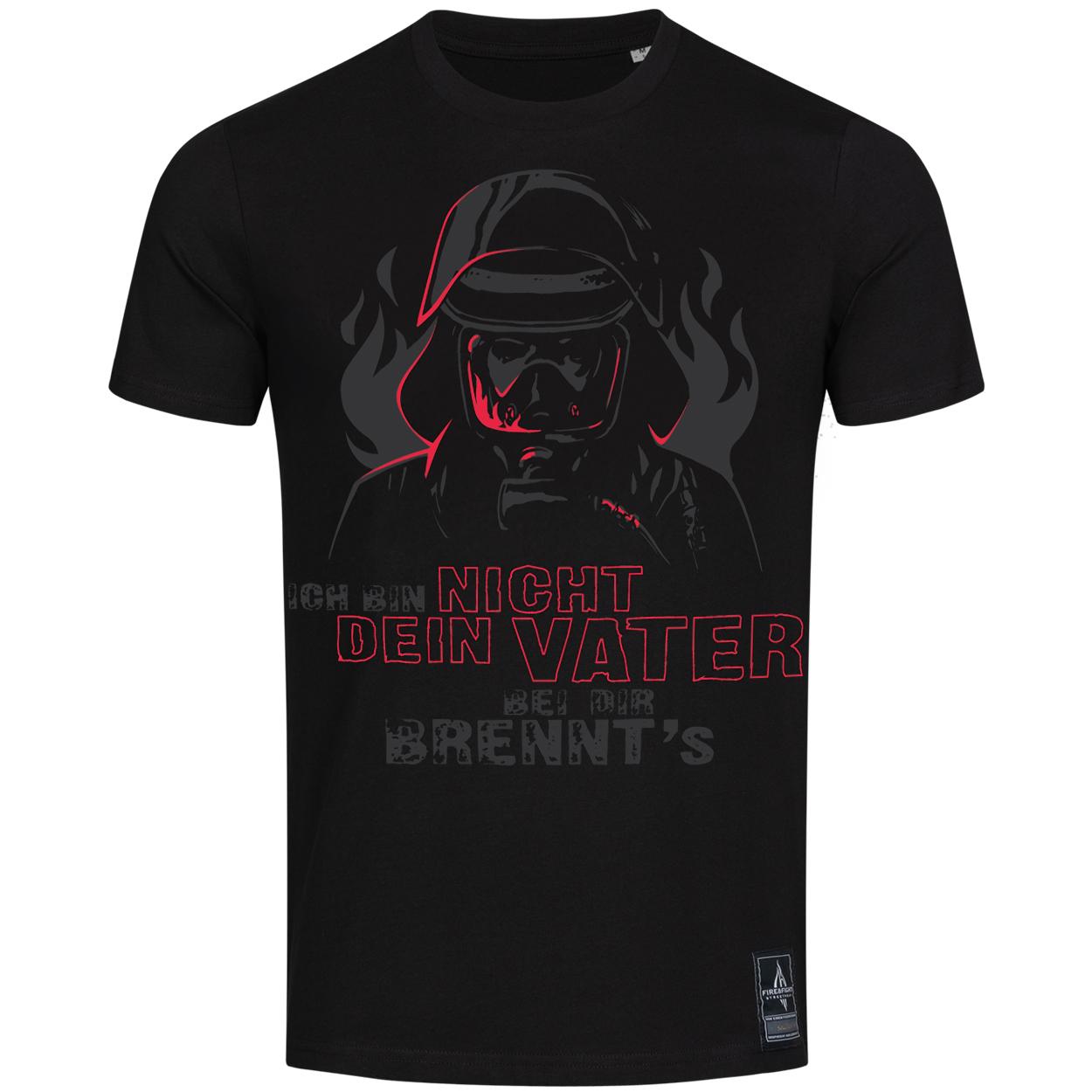 NICHT DEIN VATER Feuerwehrmann Shirt